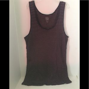 Old Navy purple/gold top